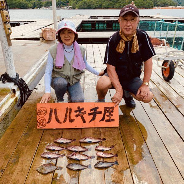 7月7日の筏の釣果