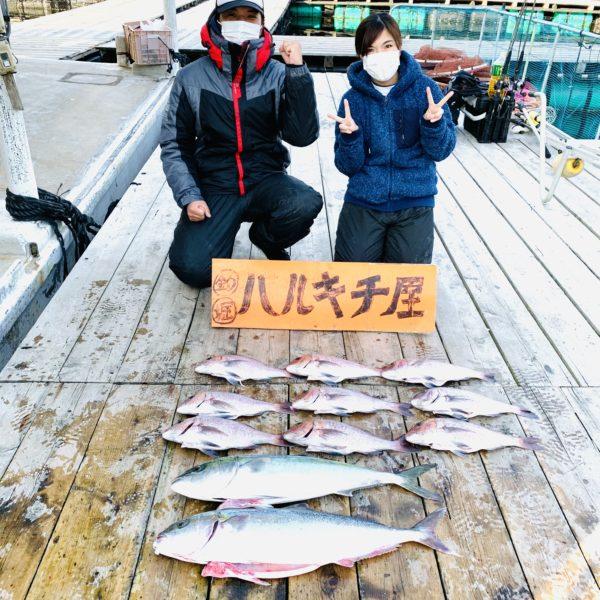 12月12日の釣果